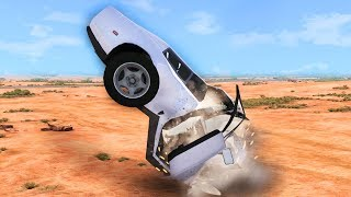 SENSELESS DESTRUCTION OF CARS! (BeamNG Drive)