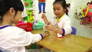 Trường Mầm Non Họa Mi BMT - Xây dựng môi trường LTLTT