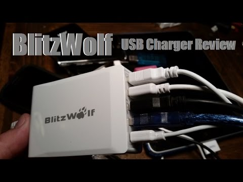 Blitzwolf USB Charger Review from Banggood