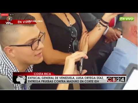 Venezuela - Declaraciones de la Fiscal Luisa Ortega Díaz a su llegada a Costa Rica - VPITV