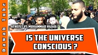 Video: Allah is not in the Universe. Allah exists outside the limits of Scientific Reasoning - Mohammed Hijab vs Alex