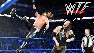 WWE SmackDown Live WTF Moments   Kevin Owens Has A Secret Twin Brother