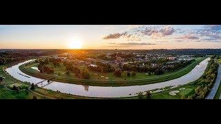 Aerial View of Ohio University Athens Campus (Summer)