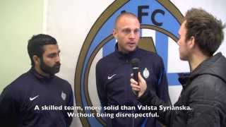 Interview before AFC United - Vasalunds IF