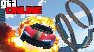 GTA 5 Online (PC) - Крутые трамплины ! #71