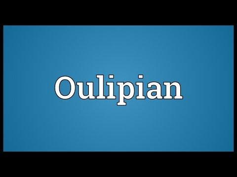 Header of oulipian