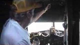 WORLD WAR II VETERAN DON BOLCE VISITS C-47