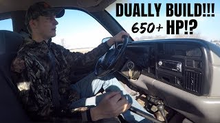 FIRST TIME DRIVING A 5 SPEED CUMMINS!!! DUALLY 12 VALVE BUILD PLAN!!!