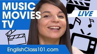 How to Talk about Music Movies  TV  Basic English