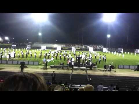 Mount Pleasant High School Marching Band Invitational 2014