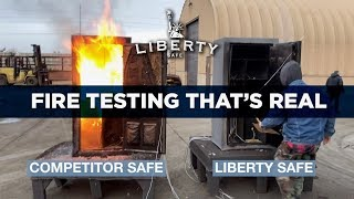 Liberty Safe's Hot Furnace Challenge