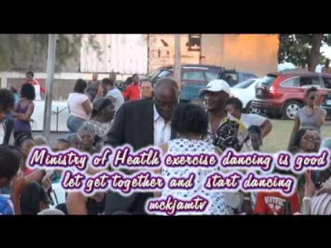 Jamaica  Fenton Minister of Health  Ferguson on fitness using dancing