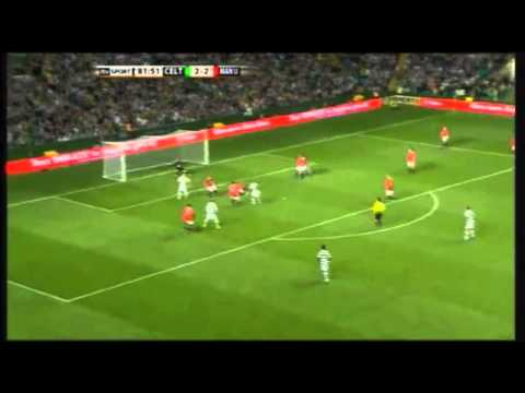 Celtic Legends vs Manchester United Legends - Henrik Larsson Hattrick