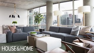 Makeover: A Bachelor's Condo Glow-Up