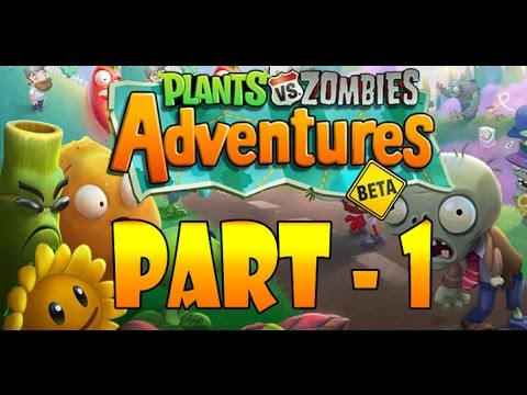 Plants vs. Zombies Adventures Part -1