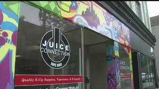 City leaders take issue with vape shop artwork in East Liverpool