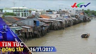 Hiểm họa rình rập những ngôi nhà dựng ven sông | TIN TỨC ĐÔNG TÂY - 16/11/2017