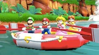 Super Mario Party - River Survival (Co-Op) | MarioGamers