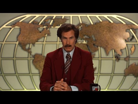 Ron Burgundy is No Fan of Cancer