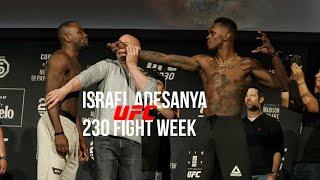 "UFC 230 Israel ""The Last Stylebender"" Adesanya EMG All Access (Documentary)"