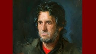 Portrait painting from life by Ben Lustenhouwer