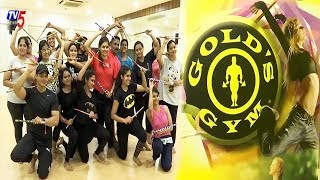 New Zumba Dandiya Dance Form in Gold's Gym Fitness Centre | Basheerbagh, Hyderabad