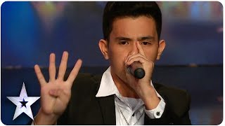 Human Beatbox Neil Amazes Everyone  Asia  S Got Talent Episode 4