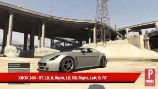 GTA 5 Cheats: Spawn Rapid GT