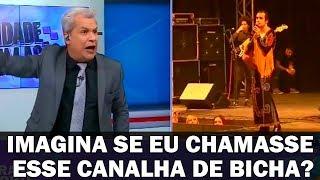 Siqueira Junior se Revolta com Cantor que Xingou J