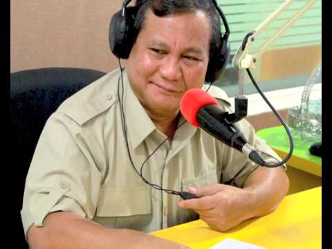 Dialog Radio Interaktif Prabowo Subianto - 5 Juli 2013