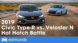 Honda Civic Type R vs. Hyundai Veloster N ― 2019 Hot Hatchback Battle