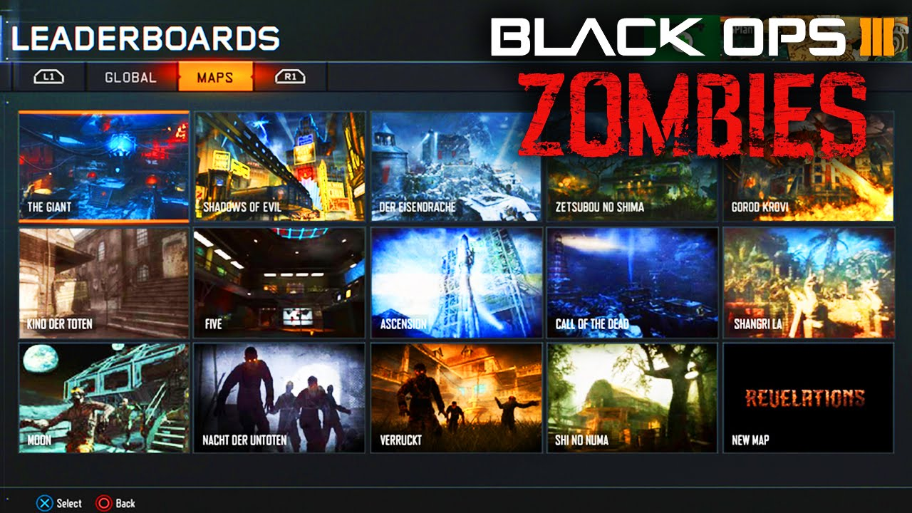 Black Ops 3 Zombies Revelations Dlc 4 All Zombies Map