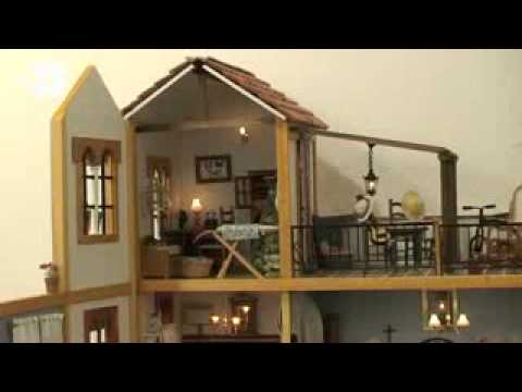 La pasi n ancestral por las casas de mu ecas youtube - La casa de las perchas ...