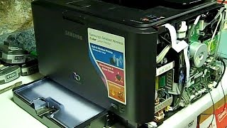 Samsung CLP-315W Printer - System Error - Cycle Power - How to Fix it Youself