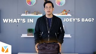What's in Team YugaTech's bag? - Joey