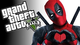 GTA 5 PC Mod Showcase - THE DEADPOOL MOD! (Funny Moments)