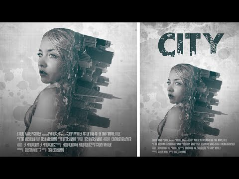 Photoshop Manipulation | Film Poster Design | Double Exposur