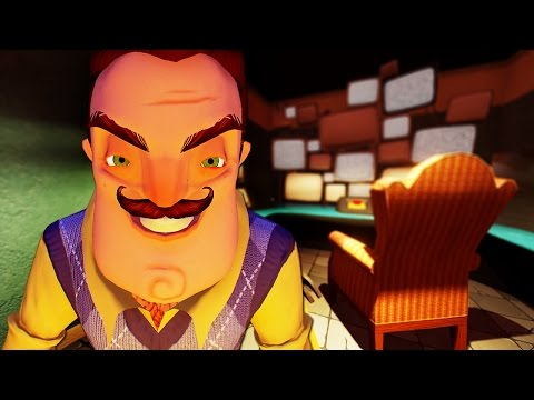 NEW UPDATE! NEW HOUSE! NEW GAME! - HELLO NEIGHBOUR (Hello Neighbor Gameplay)