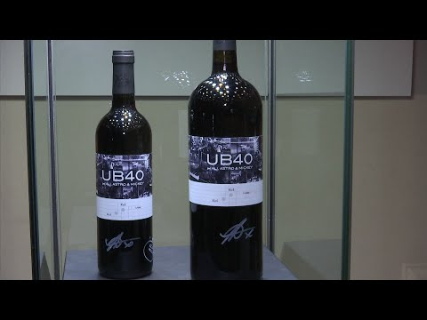 Drinking UB40's 'Red Red Wine'