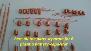Making Coils For Plasma Battery-Capacitor - Tutorial - Keshe Technology