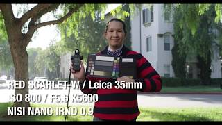NiSi Nano IRND Review (Shot on RED SCARLET-W)