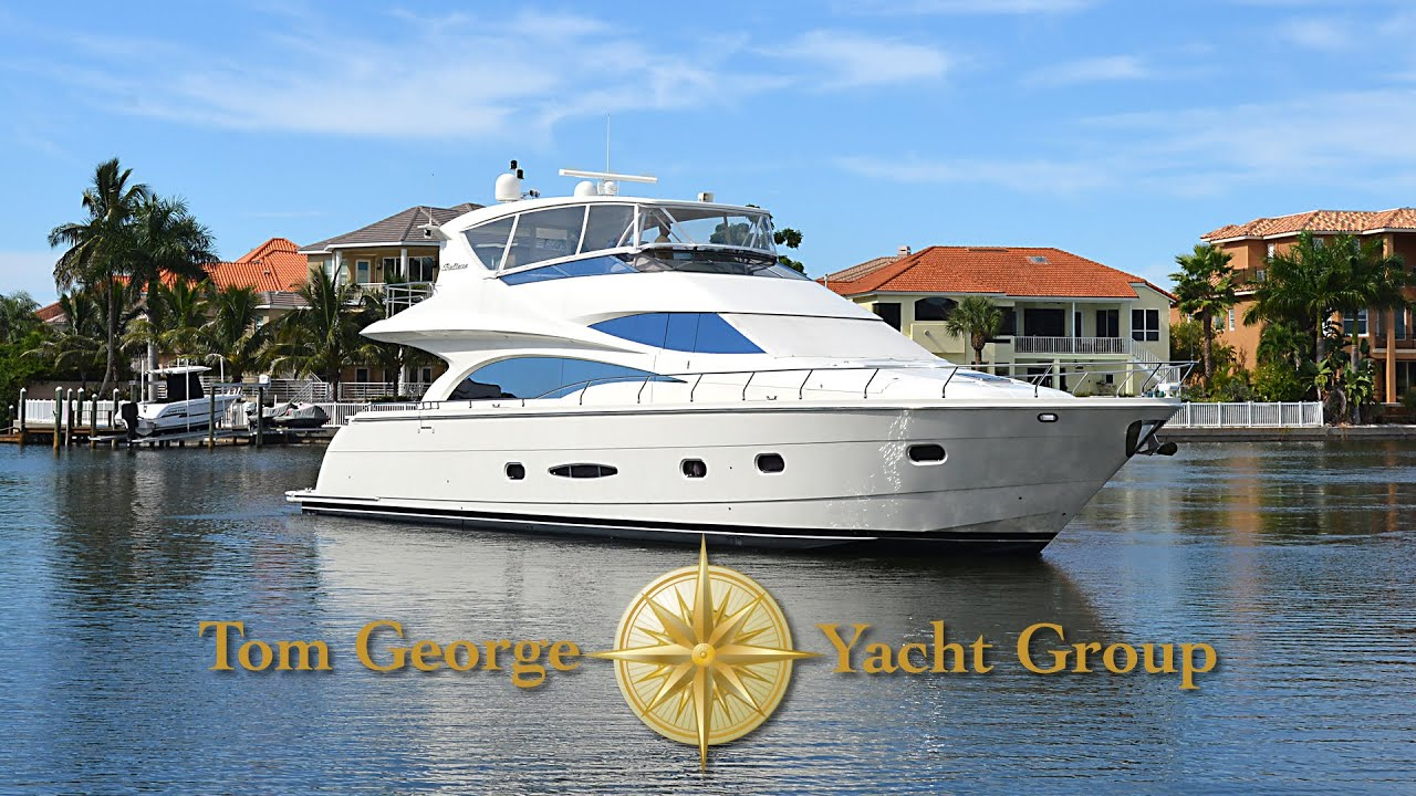 The Motor Yacht Believe An Original Owner 65 Foot Marquis