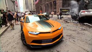 Transformers: Age of Extinction - Bumblebee's New Look
