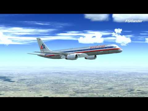 Microsoft Flight Simulator X- American Airlines Flight 278 :: Dallas/Fort Worth to Anchorage