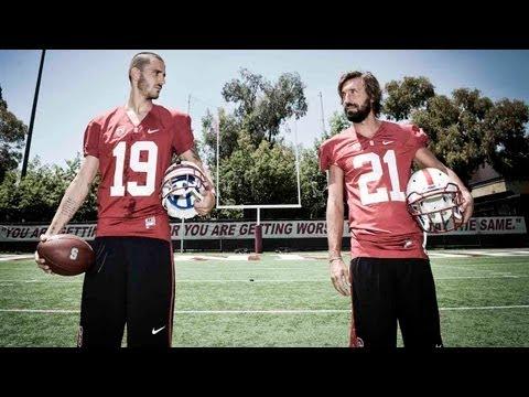 Bonucci e Pirlo alla scoperta del football di Stanford - Pick me!
