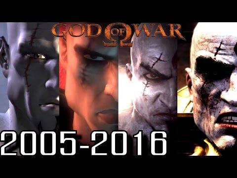 God of War ALL INTROS 2005-2016 (PS2, PS3, PS4, PSP)