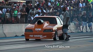 Side By Side Action From MGMP No Time N/T Drag Racing Grudge