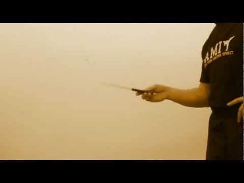 TCS Knife Fighting Concept - Home Training - Lesson 1 - Blade Spinning Image 1