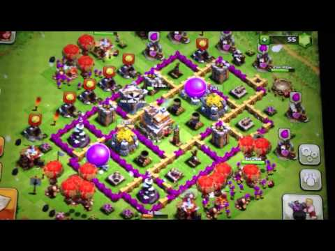 BEST Clash of Clans Defense Strategy for Town Hall level Seven!!!