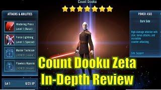 Star Wars Galaxy of Heroes: Count Dooku Zeta In-Depth Review
